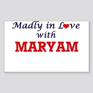 Madly in Love with Maryam Sticker