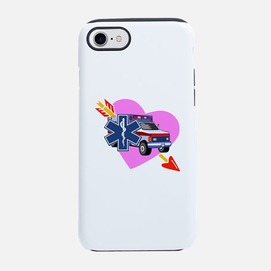 EMS Care Heart iPhone 8/7 Tough Case