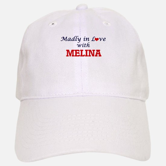 Madly in Love with Melina Baseball Baseball Cap