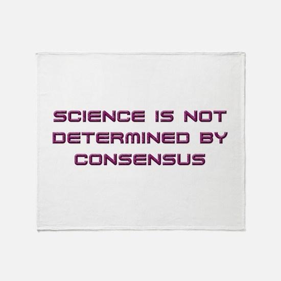 Consensus Throw Blanket