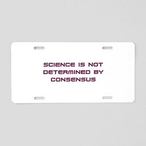 Consensus Aluminum License Plate