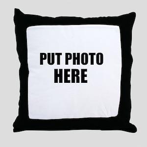 Customize Throw Pillow
