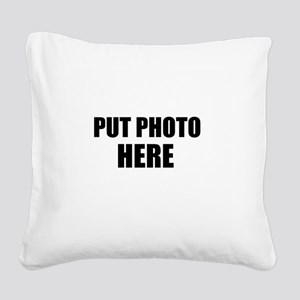 Customize Square Canvas Pillow