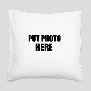 Customize Square Canvas Pillow