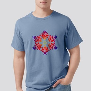 sunset snow peace T-Shirt