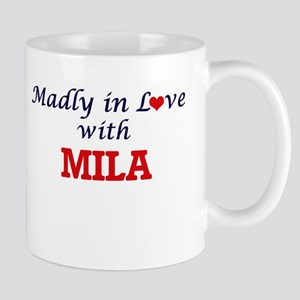 Madly in Love with Mila Mugs