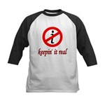 Keepin' It Real Kids Baseball Jersey