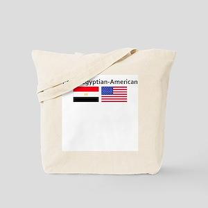 Proud Egyptian American Tote Bag