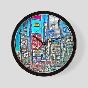 NYC1 Wall Clock