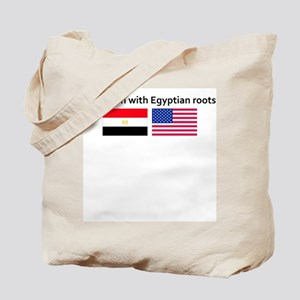 American with Egyptian roots Tote Bag