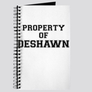 Property of DESHAWN Journal