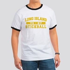 Long Island Stickball Ringer T