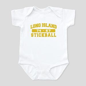 Long Island Stickball Infant Bodysuit