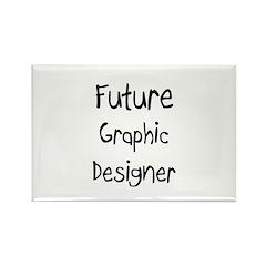 Future Graphic Designer Rectangle Magnet
