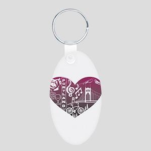 Heartlandia Keychains