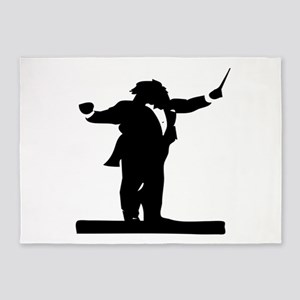Band Conductor 5'x7'Area Rug