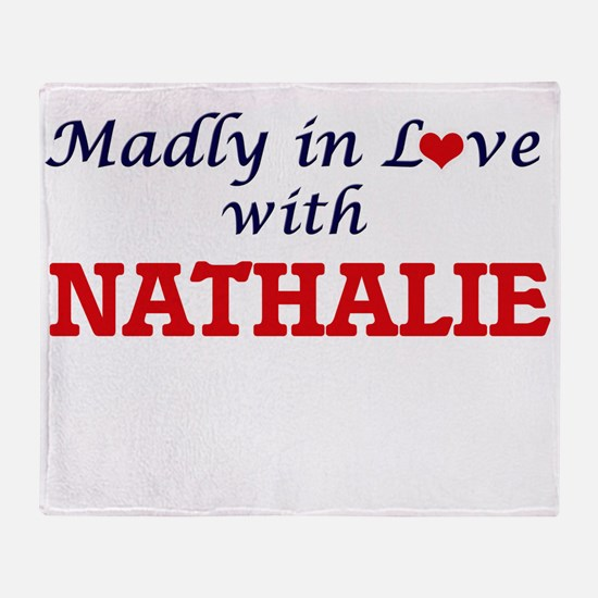 Madly in Love with Nathalie Throw Blanket