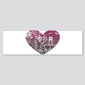 Heartlandia Bumper Sticker
