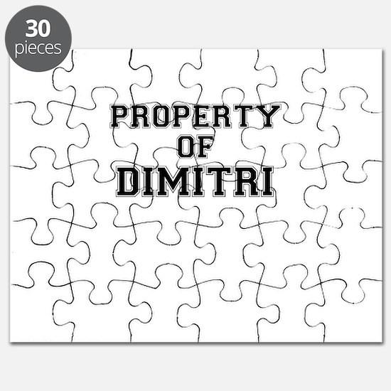 Property of DIMITRI Puzzle