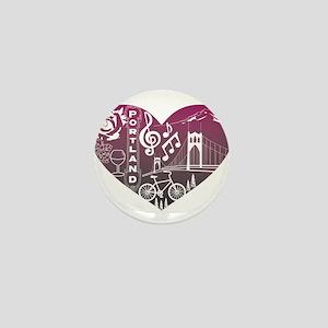 Heartlandia Mini Button