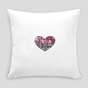 Heartlandia Everyday Pillow