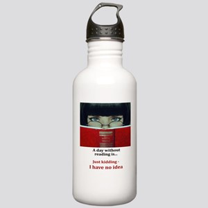 A day without reading Stainless Water Bottle 1.0L