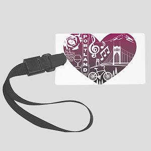 Heartlandia Luggage Tag