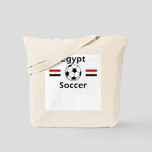 Egypt Soccer Tote Bag