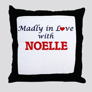 Madly in Love with Noelle Throw Pillow