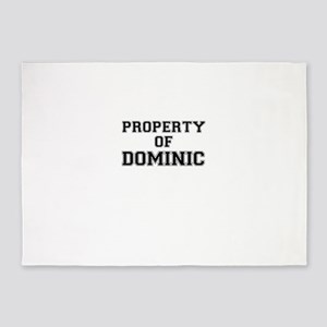Property of DOMINIC 5'x7'Area Rug