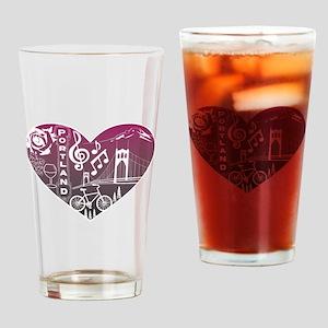 Heartlandia Drinking Glass