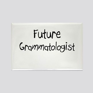 Future Grammatologist Rectangle Magnet