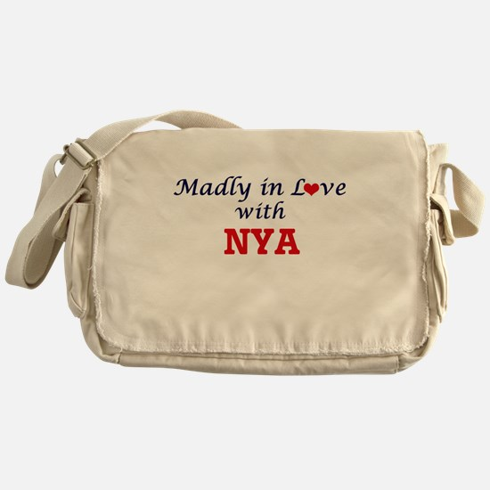 Madly in Love with Nya Messenger Bag