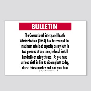 OSHA Postcards (Package of 8)