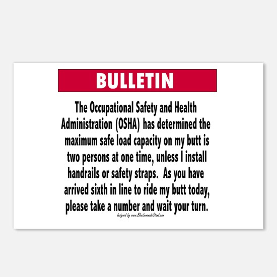 Safety postcards safety post card design template osha postcards package of 8 pronofoot35fo Images