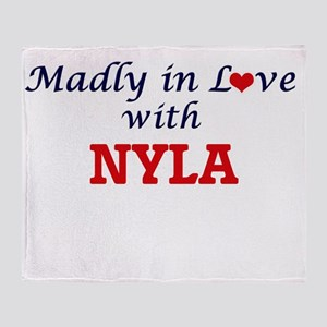 Madly in Love with Nyla Throw Blanket