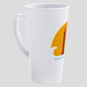 animals are my friends 17 oz Latte Mug