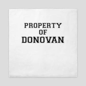 Property of DONOVAN Queen Duvet