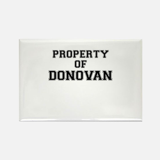 Property of DONOVAN Magnets