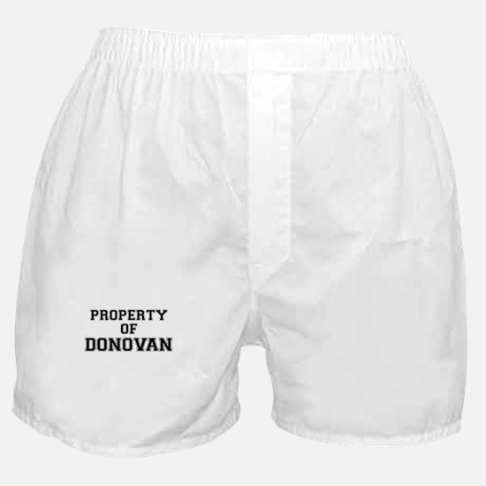Property of DONOVAN Boxer Shorts