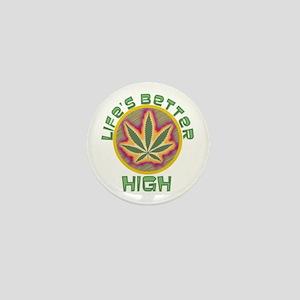 High Life Mini Button
