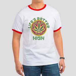 High Life Ringer T