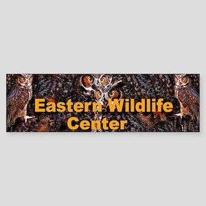 EWC Owl Bumper Sticker