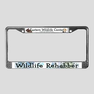 Wildlife Rehab License Plate Frame