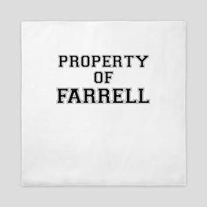 Property of FARRELL Queen Duvet