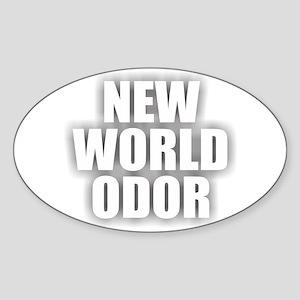 New World Odor Sticker