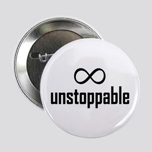 "Infinity, Unstoppable 2.25"" Button"