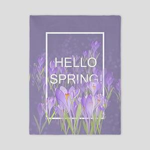 Hello Spring Twin Duvet Cover