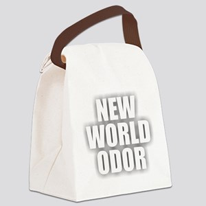 New World Odor Canvas Lunch Bag