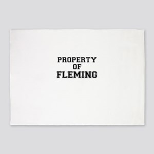 Property of FLEMING 5'x7'Area Rug